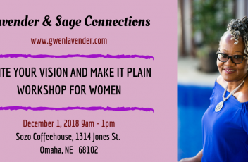 WRITE YOUR VISION, MAKE IT PLAIN WORKSHOP FOR WOMEN